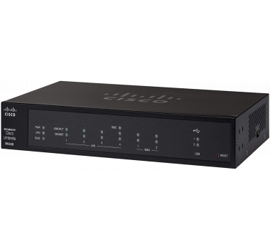 Roteador Cisco  RV340 Dual Gigabit WAN VPN Router