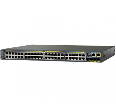 SWITCH CISCO CATALYST 2960X (WS-C2960X-48FPD-LB) 48 10/100/1000 POE+ 2-SFP+ L3 GERENCIÁVEL