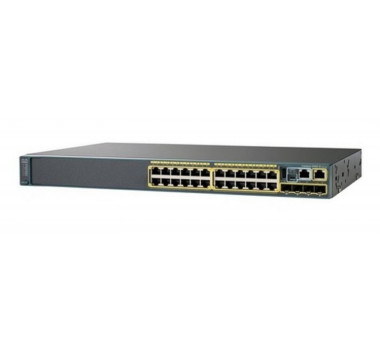 Switch Cisco WS-C2960X-24PS-BR 24P 10/100/1000
