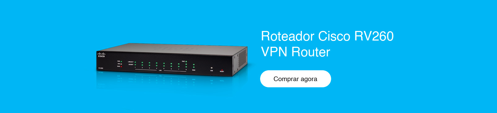 Roteador Cisco RV260