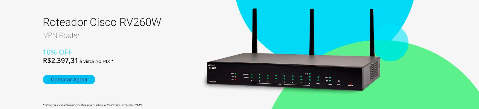 Roteador Cisco RV260W