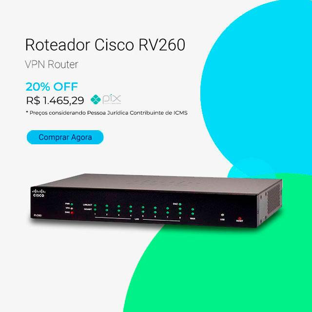 Roteador Cisco RV260 VPN Router