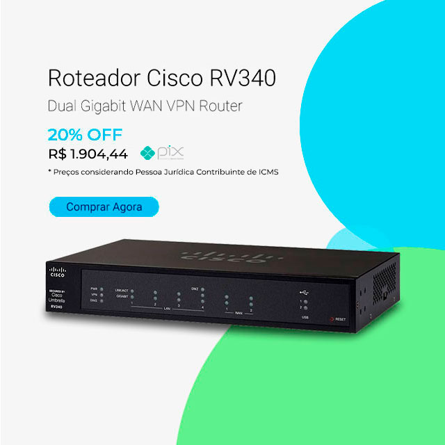 Roteador Cisco RV340